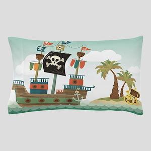 Pirate Ship Pillow Case