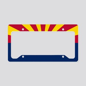 Arizona: Arizona State Flag License Plate Holder