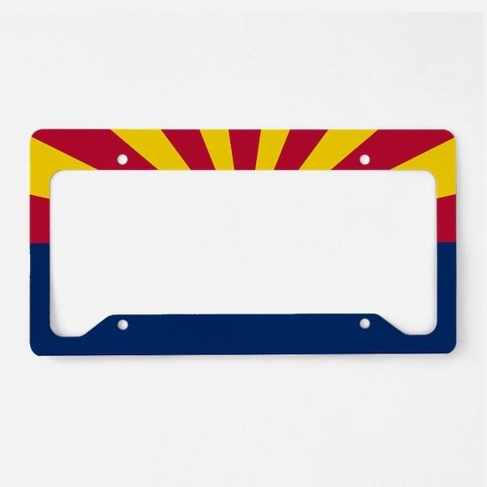 Arizona: Arizona State Flag License Plate Holder