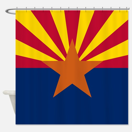 Arizona: Arizona State Flag Shower Curtain