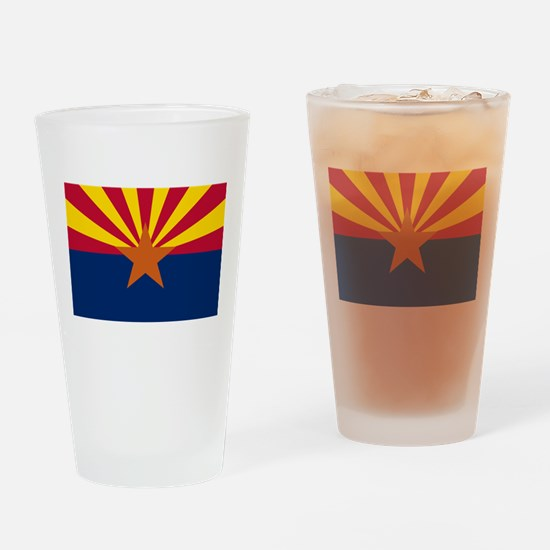 Arizona: Arizona State Flag Drinking Glass
