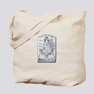 Structure of Freemasonry Tote Bag
