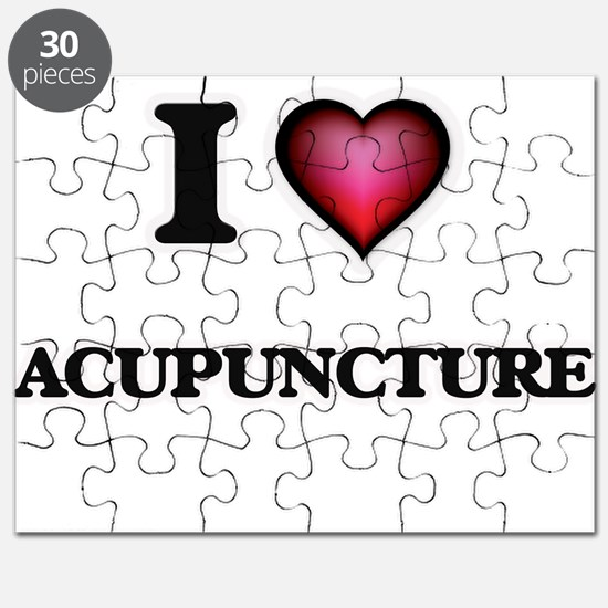 I Love Acupuncture Puzzle