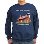 Eagle Harbor Lighthouse Sweatshirt (dark)