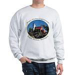 Eagle Harbor Lighthouse Oval Sweatshirt