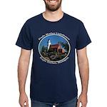 Eagle Harbor Lighthouse Oval T-Shirt