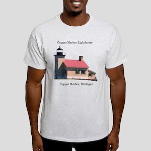 Copper Harbor Lighthouse Light T-Shirt