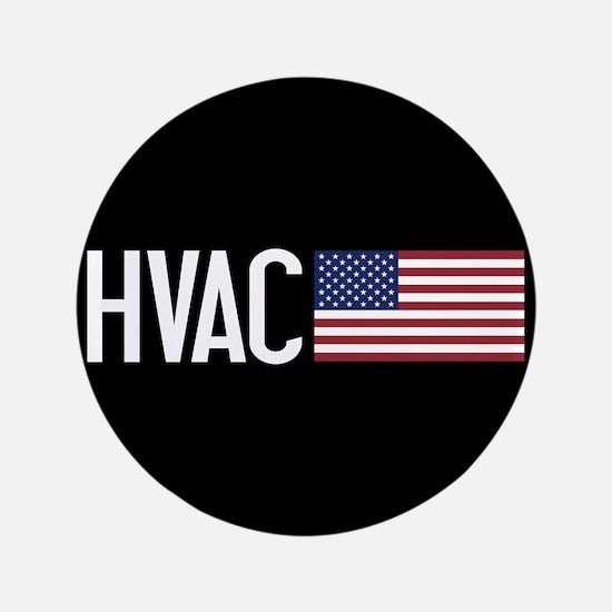 HVAC: HVAC & American Flag Button