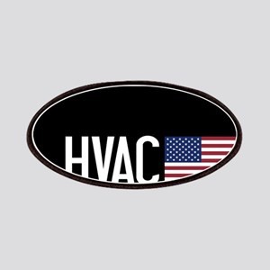 HVAC: HVAC & American Flag Patch
