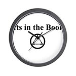 Its in the book Wall Clock