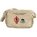 attitude-life-changed Messenger Bag
