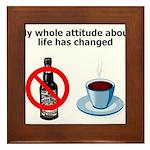 attitude-life-changed Framed Tile