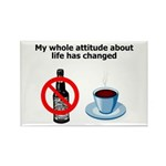 attitude-life-changed Rectangle Magnet (100 pa