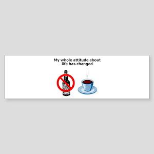 attitude-life-changed Sticker (Bumper)