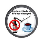 attitude-life-changed Wall Clock