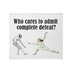 complete-defeat Throw Blanket