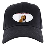 cat-lion Black Cap with Patch