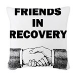FRIENDS-RECOVERY Woven Throw Pillow