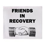 FRIENDS-RECOVERY Throw Blanket