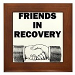 FRIENDS-RECOVERY Framed Tile