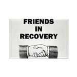 FRIENDS-RECOVERY Rectangle Magnet (10 pack)