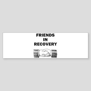 FRIENDS-RECOVERY Sticker (Bumper)