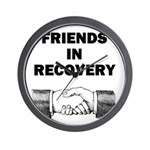 FRIENDS-RECOVERY Wall Clock
