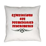 expectations Everyday Pillow