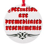 expectations Round Ornament