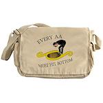 must-hit-bottom Messenger Bag
