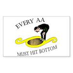 must-hit-bottom Sticker (Rectangle 50 pk)
