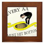 must-hit-bottom Framed Tile