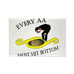 must-hit-bottom Rectangle Magnet (100 pack)