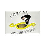 must-hit-bottom Rectangle Magnet (10 pack)