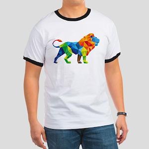 Mosaic Lion T-Shirt
