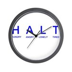 HALT Wall Clock