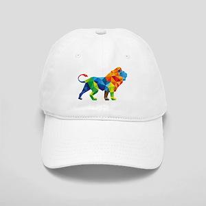 Mosaic Lion Cap