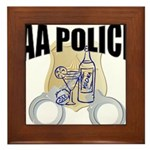 aa-police Framed Tile