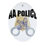 aa-police Oval Ornament