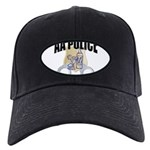 aa-police Black Cap with Patch