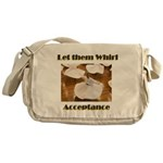 let-them-whirl Messenger Bag