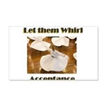 let-them-whirl 20x12 Wall Decal