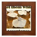 let-them-whirl Framed Tile