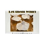 let-them-whirl Rectangle Magnet (100 pack)