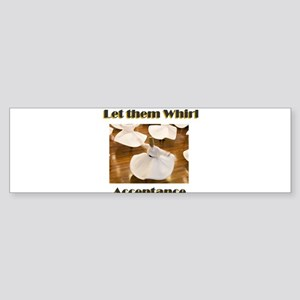 let-them-whirl Sticker (Bumper)