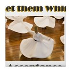 let-them-whirl Tile Coaster