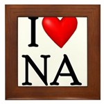 i-love-na Framed Tile