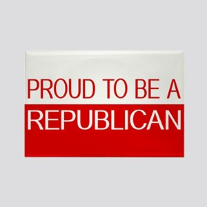 Republican: Proud to be a Republican (Red & White)