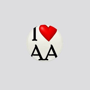 2-i-love-aa Mini Button