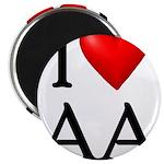 2-i-love-aa Magnet